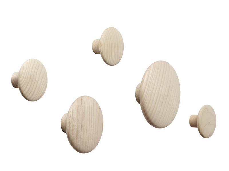 Muuto The Dots Coat Hooks - Set of 5