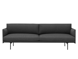 Muuto Outline Three Seater Sofa in Remix Fabric