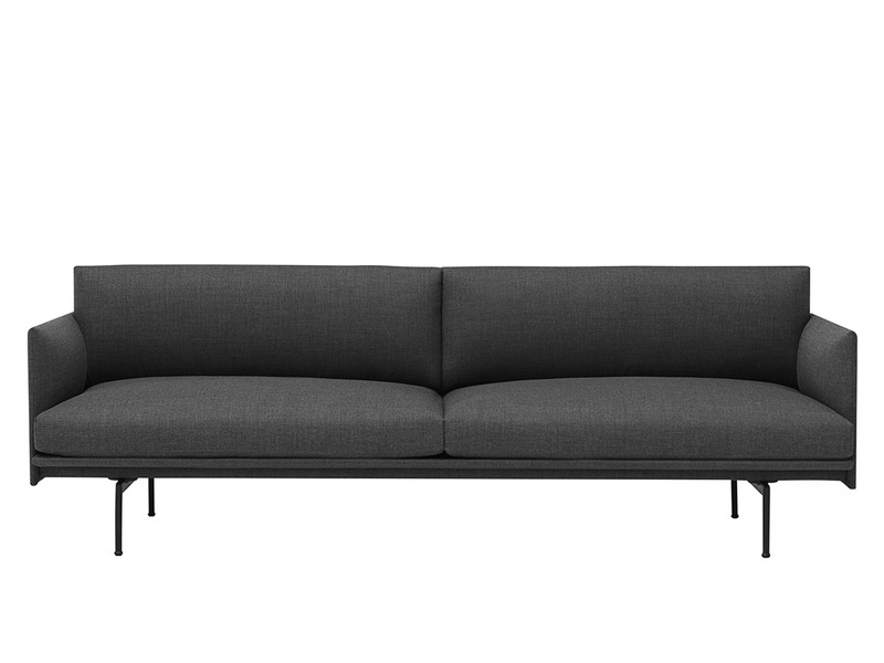 Muuto Outline Three Seater Sofa in Remix Fabric