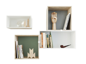 Muuto Mini Stacked Shelving System 2.0