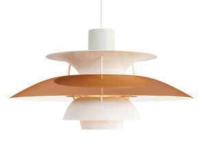 Louis Poulsen PH 5 Copper Pendant Light