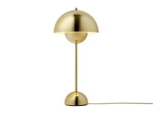 &Tradition FlowerPot VP3 Table Lamp Metallic