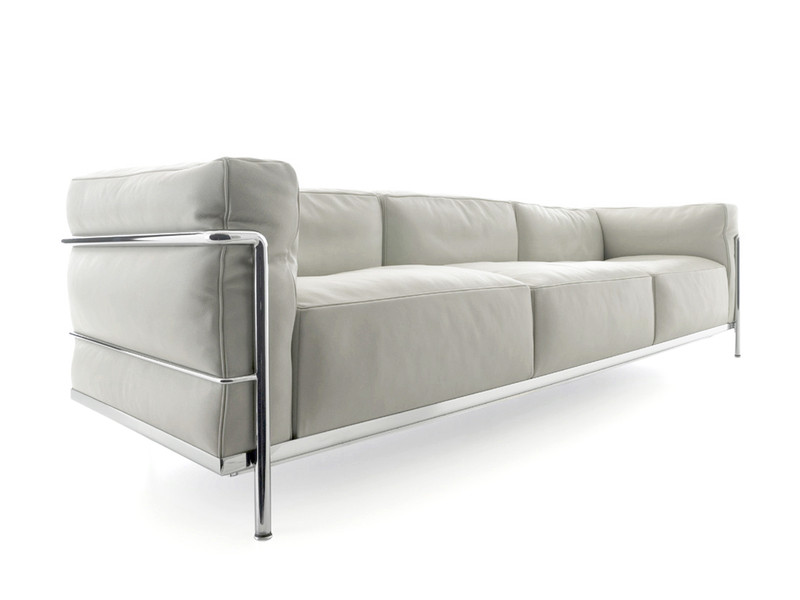 Cassina LC3 Three Seater Sofa