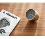 Menu Norm Tumbler Alarm Clock Brass
