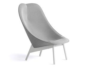 Hay Uchiwa Lounge Chair Grey Base