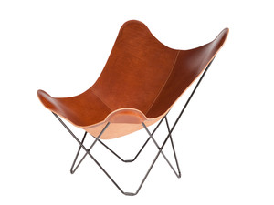 Cuero Design Leather Butterfly Chair – Pampa Mariposa
