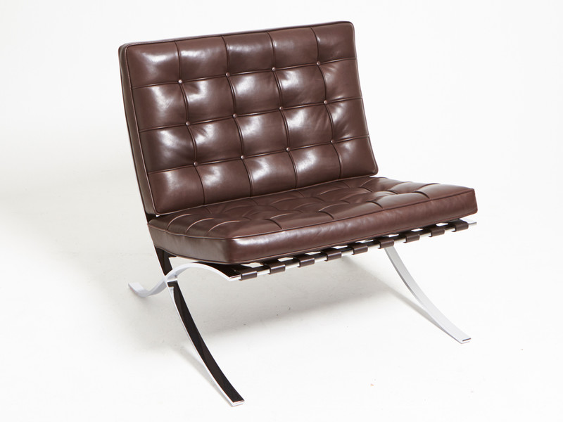 Buy The Knoll Studio Knoll Barcelona Chair Relax Version At Nestcouk