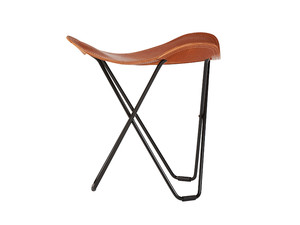 Cuero Design Flying Goose Stool - Leather