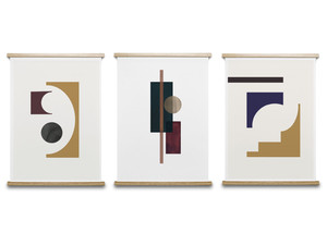 Paper Collective Shapes of Colour Collection