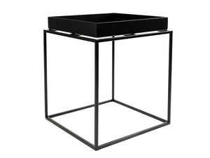 Ex-Display Hay Tray Table Black