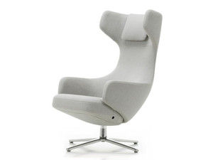 Vitra Grand Repos Lounge Chair Fabric Mello