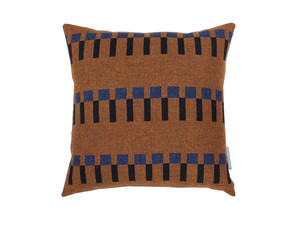 Eleanor Pritchard Dovetail Cushion - Tobacco Face