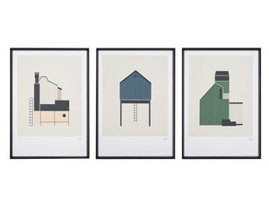 Tom Pigeon Tin Shed Screen Prints