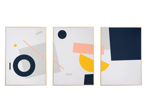 Tom Pigeon Shipwreck Set of 3 Screen Prints