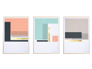 Tom Pigeon Harbour Set of 3 Screen Prints