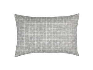 Eleanor Pritchard Sourdough Cushion - Limestone Grey Face