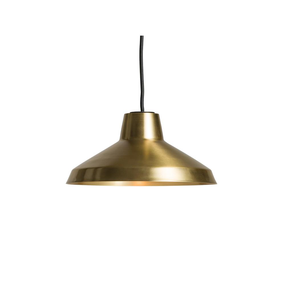 Northern evergreen pendant light brass