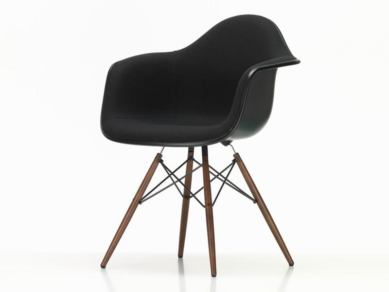 Eames Plastic Armchair : Buy the vitra daw eames plastic armchair upholstered at nest