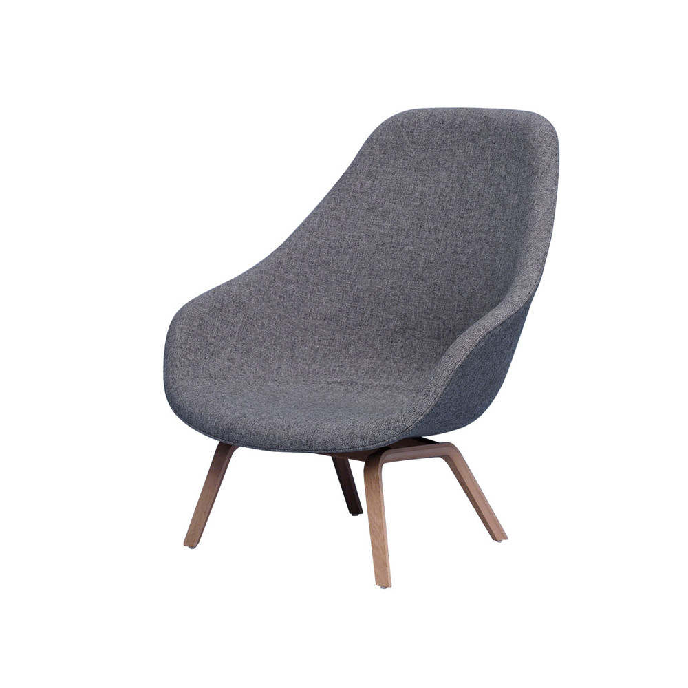 Hay Lounge Stoel.Buy The Hay About A Lounge Chair High Aal93 At Nest Co Uk
