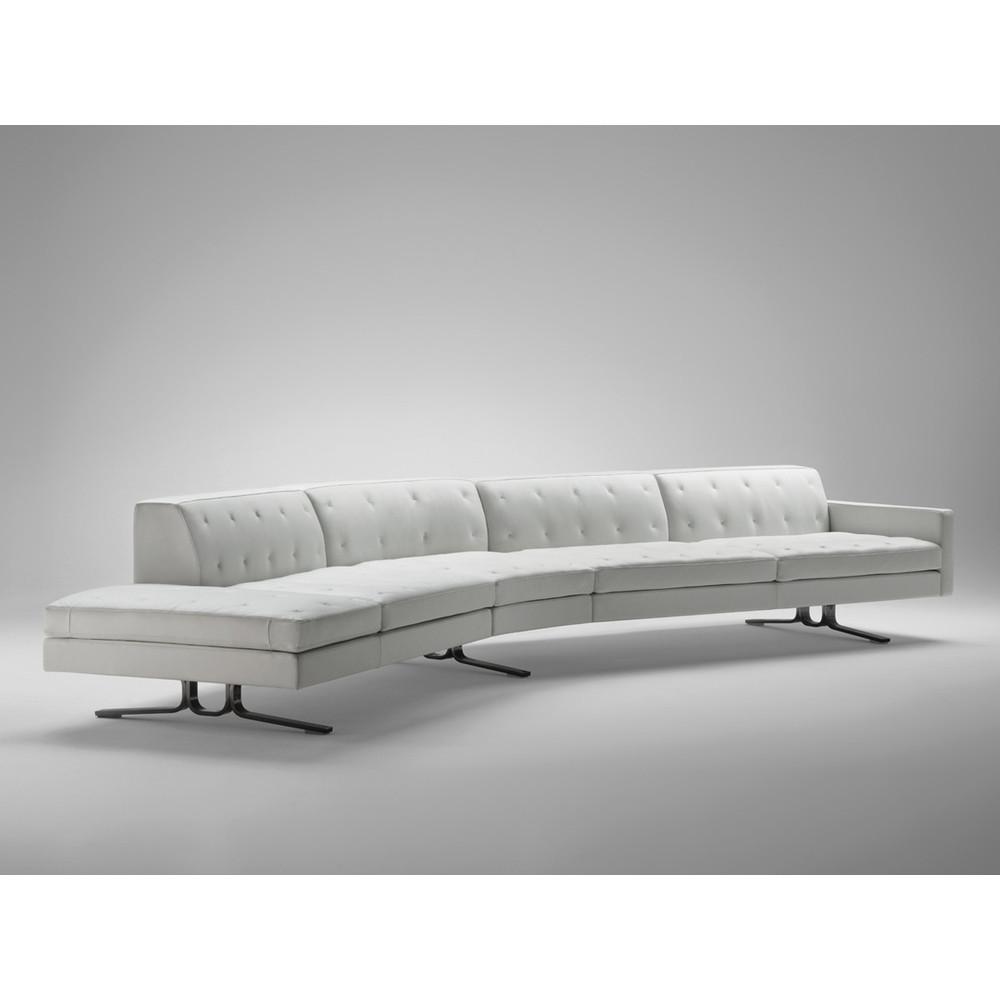 Poltrona Sofa.Buy The Poltrona Frau Kennedee Curved Sofa At Nest Co Uk