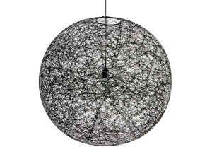 View Moooi Random Suspension Light Black