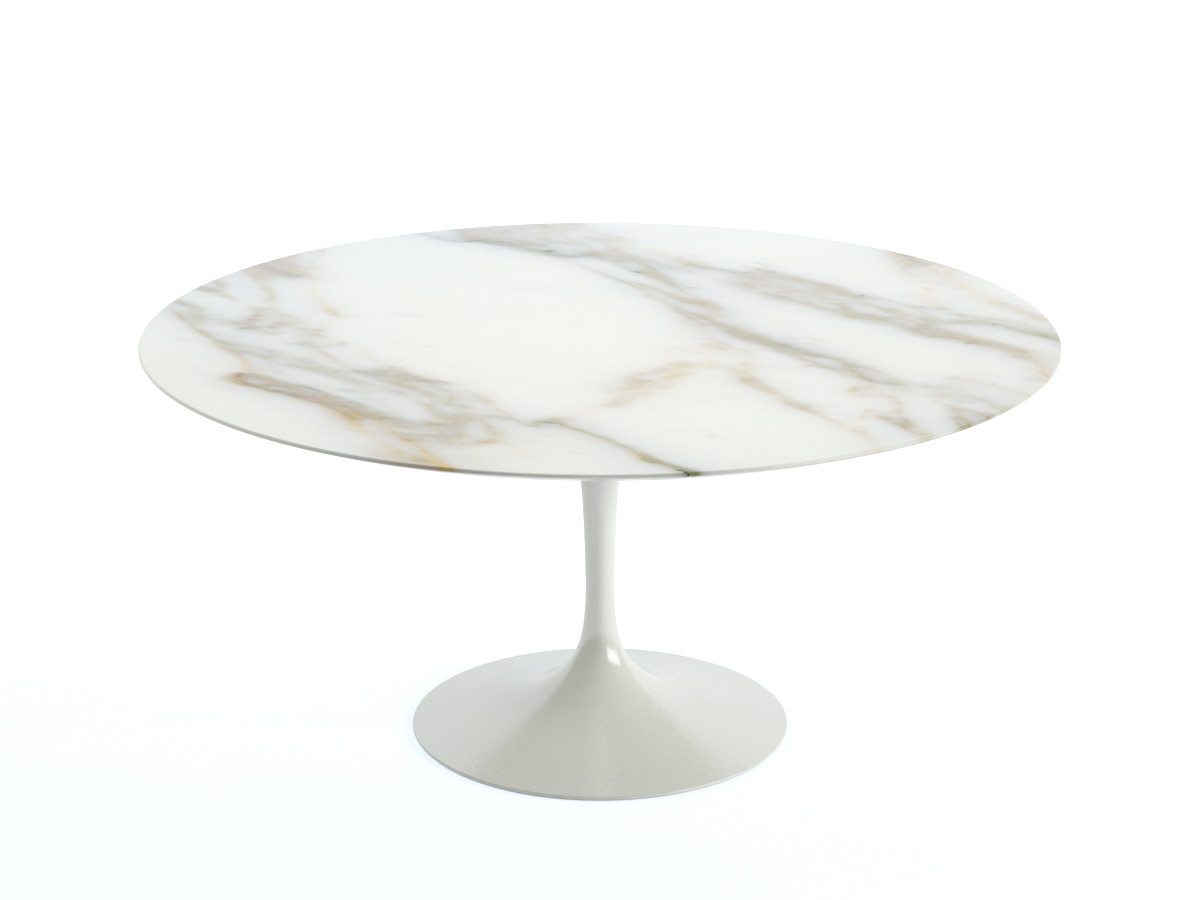 buy the knoll saarinen tulip dining table 152cm diameter On tulip saarinen knoll