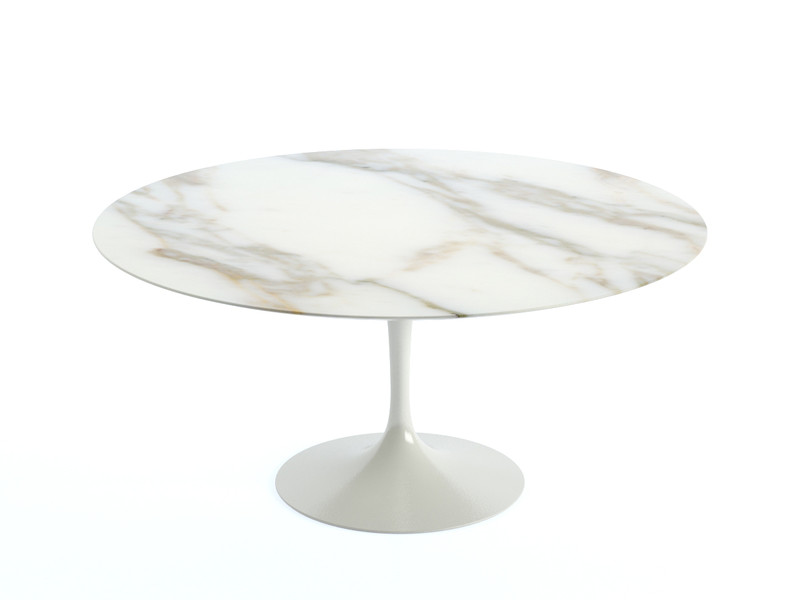 Buy The Knoll Saarinen Tulip Dining Table Cm Diameter At Nestcouk - Original saarinen tulip table