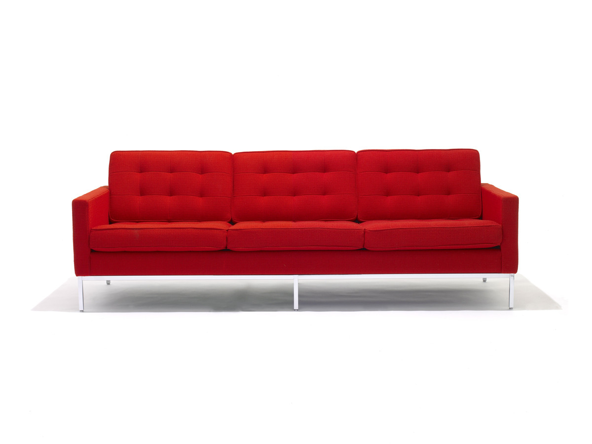 Buy The Knoll Studio Knoll Florence Knoll Three Seater Sofa At
