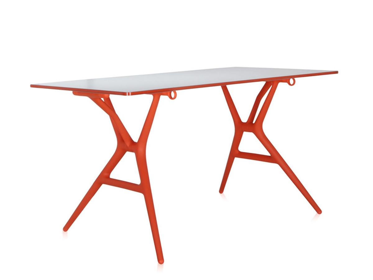 Buy The Kartell Spoon Table Orange At