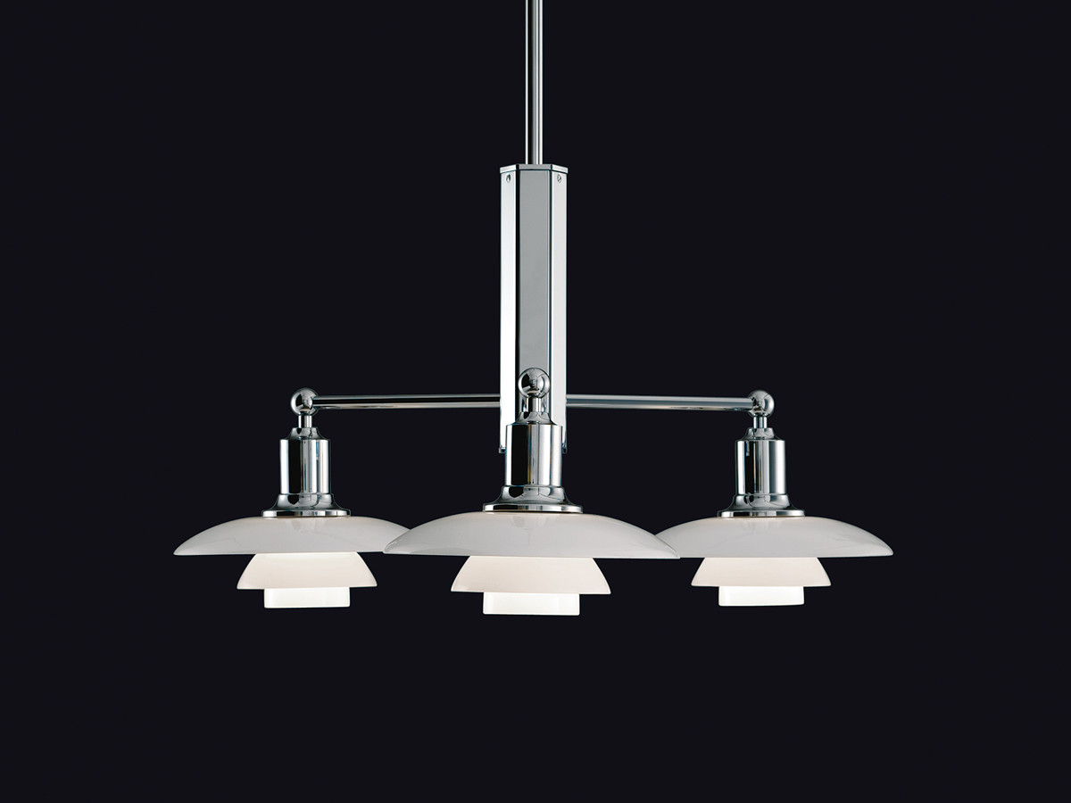 Buy the louis poulsen ph 2 1 stem fitting suspension light for Suspension 4 lampes