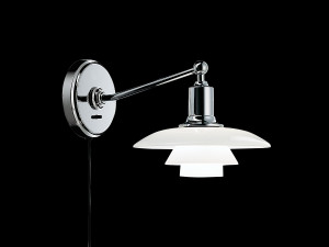 View Louis Poulsen PH 2/1 Wall Light