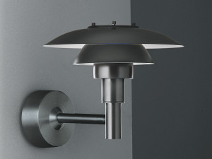 View Louis Poulsen PH 3-2½ Outdoor Wall Light