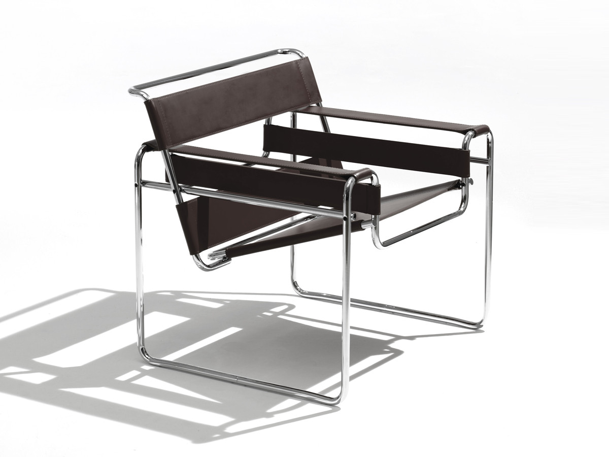 buy the knoll studio knoll wassily lounge chair at. Black Bedroom Furniture Sets. Home Design Ideas