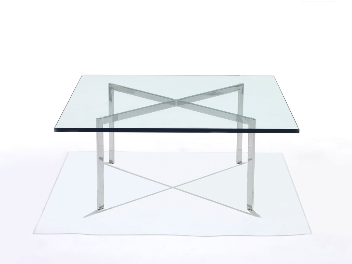 buy the knoll studio knoll barcelona low table at. Black Bedroom Furniture Sets. Home Design Ideas