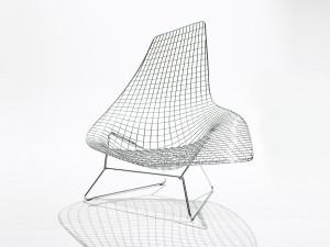 View Knoll Bertoia Asymmetric Chaise