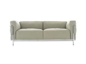 View Cassina LC3 Two Seater Sofa