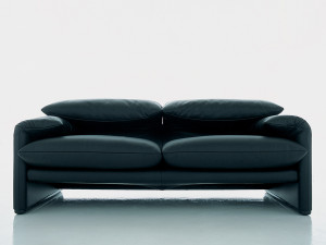 View Cassina 675 Maralunga Two Seater Sofa