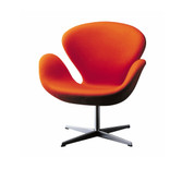 Fritz Hansen Swan Lounge Chair - Fabric