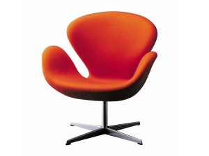 View Fritz Hansen Swan Lounge Chair - Fabric