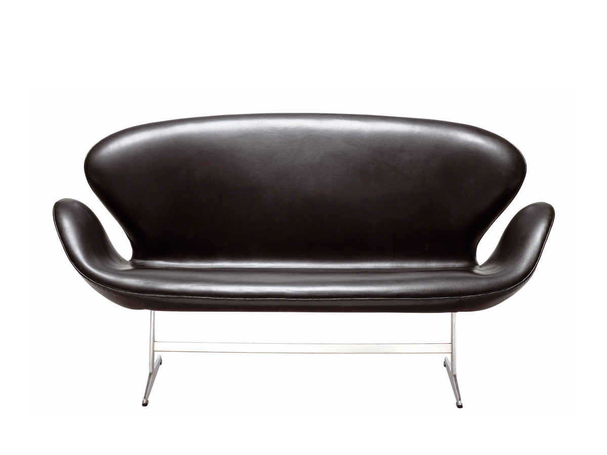 buy the fritz hansen swan sofa leather at. Black Bedroom Furniture Sets. Home Design Ideas