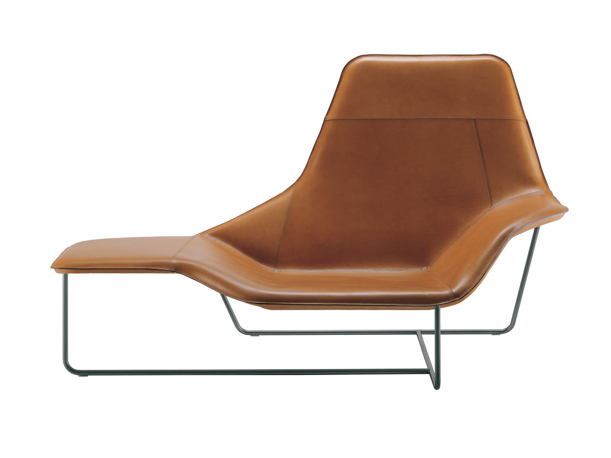 Buy the zanotta 921 lama chaise longue at for Chaise longue legere pliante