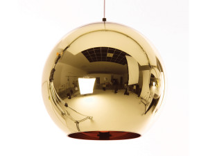 View Tom Dixon Bronze Copper Shade Pendant Light 45cm