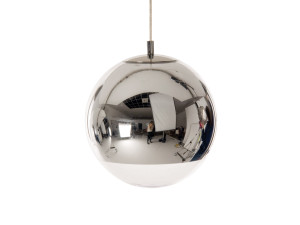 View Tom Dixon Mirror Ball Pendant Light 25cm