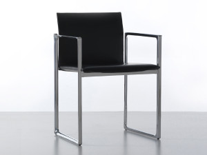 View Cassina 184 Eve Chair - Metal Frame