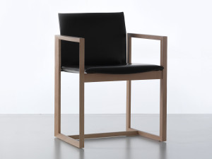 View Cassina 184 Eve Chair - Wooden Frame