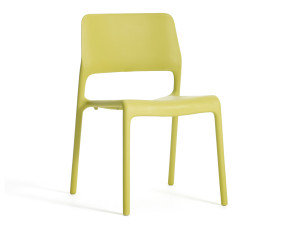 View Knoll Spark Side Chair Citron
