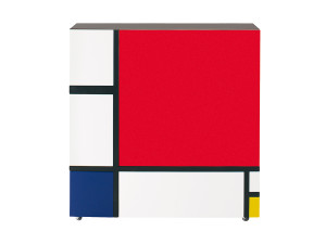 View Cappellini Homage to Mondrian Cabinet 2