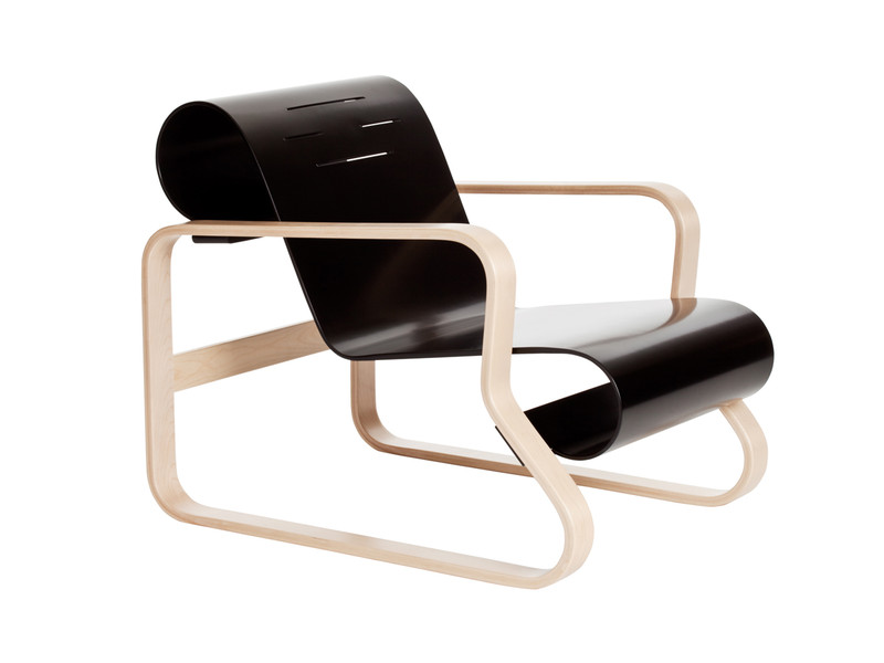 Buy the artek 41 paimio armchair at for Aalto chaise lounge
