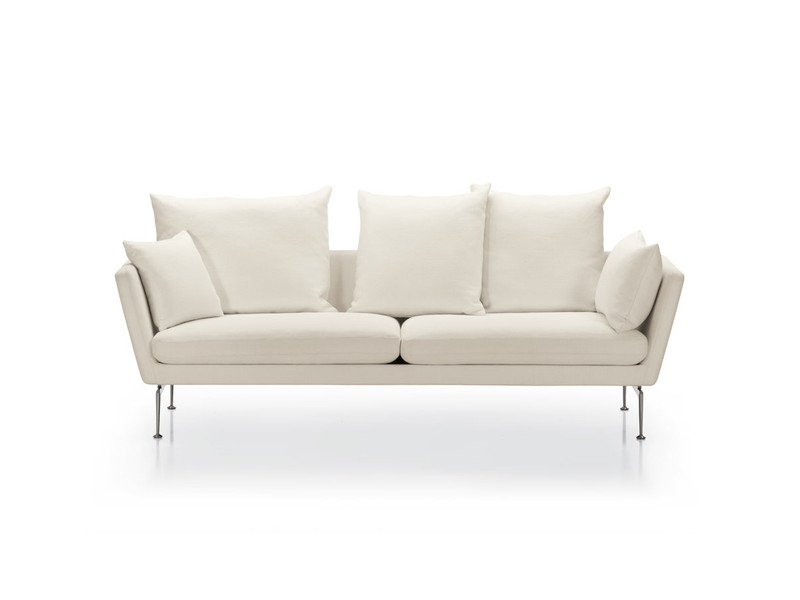 Buy The Vitra Suita Sofa Pointed Three Seater At Nestcouk
