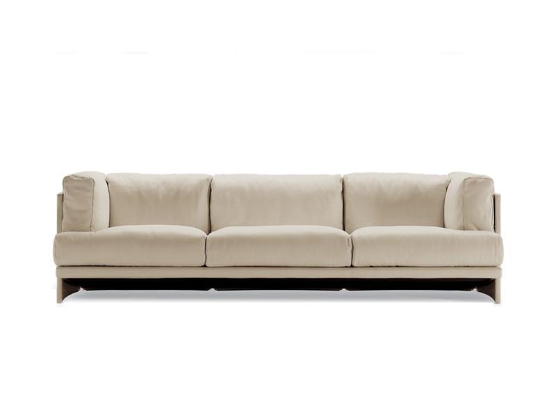 Poltrona Frau Polo Three Seater Sofa